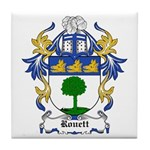 Rouett Coat of Arms Tile Coaster