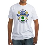 Rouett Coat of Arms Fitted T-Shirt