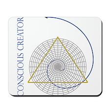 sacred geometry fibonacci Mousepad
