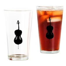 Cello Drinking Glass