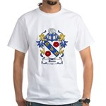 Rome Coat of Arms White T-Shirt