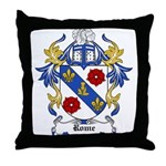 Rome Coat of Arms Throw Pillow