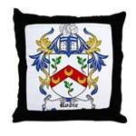 Rodie Coat of Arms Throw Pillow