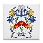 Rodie Coat of Arms Tile Coaster