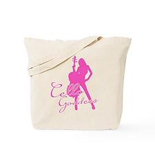 Cello Goddess Tote Bag