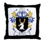 Rodger Coat of Arms Throw Pillow