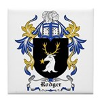 Rodger Coat of Arms Tile Coaster