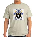 Rodger Coat of Arms Ash Grey T-Shirt