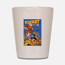 Rocket Comics #55 Shot Glass