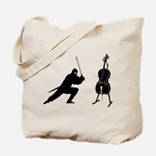 Cello Ninja Tote Bag