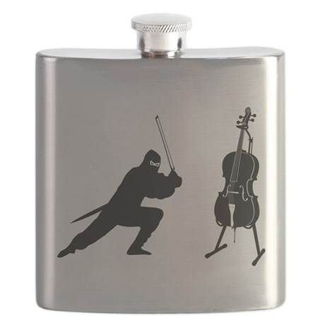 Cello Ninja Flask