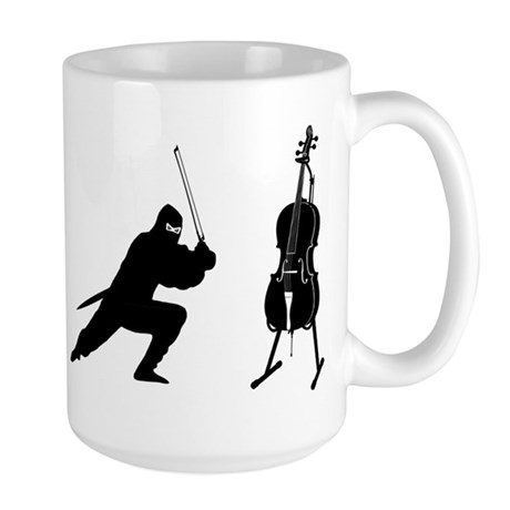 Cello Ninja Large Mug