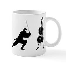 Cello Ninja Mug