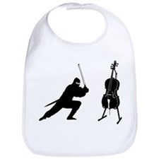 Cello Ninja Bib
