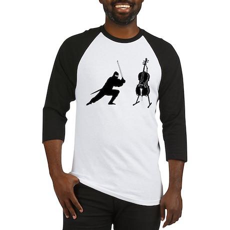Cello Ninja Baseball Jersey