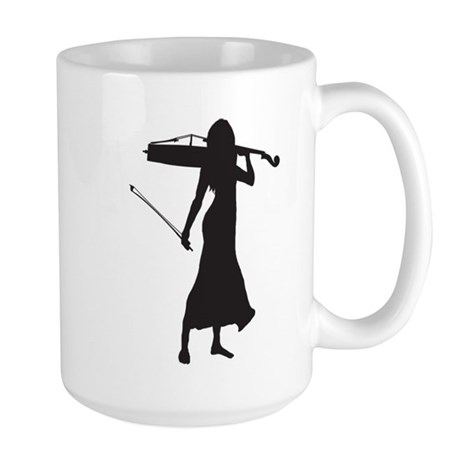 Cellist Large Mug