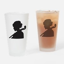 Cellist Drinking Glass
