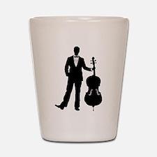 Cellist Shot Glass