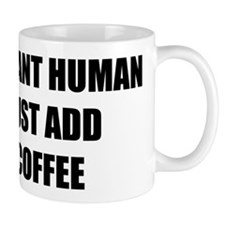 Instant Human Small Mugs