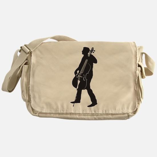 Cellist Messenger Bag