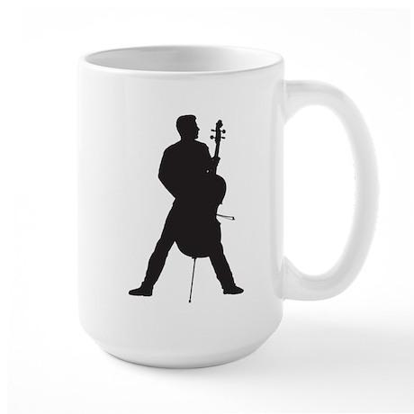 Cellist Large Mug