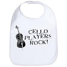 Cello Players Rock Bib
