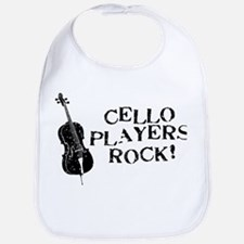 Cello Players Rock Bib