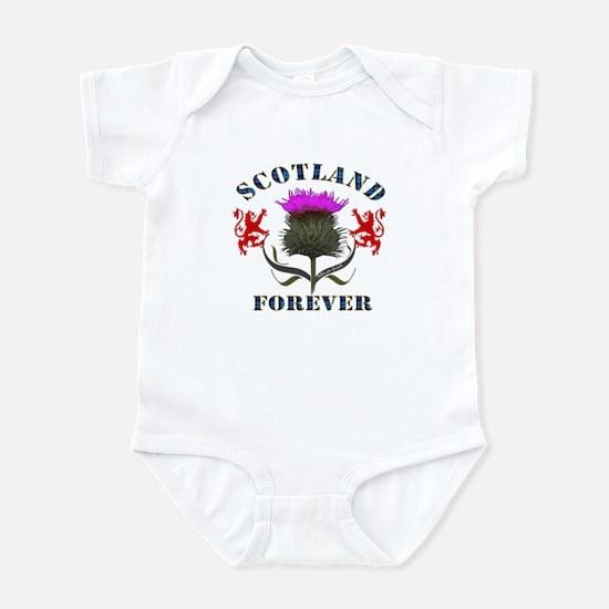 Scotland Forever Thistle Infant Bodysuit