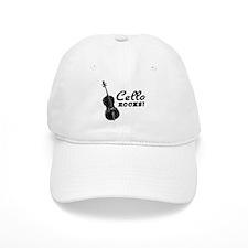 Cello Rocks Baseball Cap