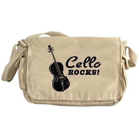 Cello Rocks Messenger Bag