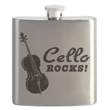 Cello Rocks Flask