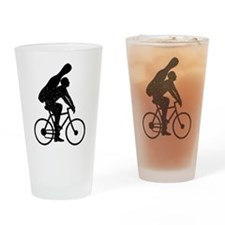 Cello Rider Drinking Glass