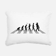 Cellist Evolution Rectangular Canvas Pillow