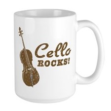 Cello Rocks Mug