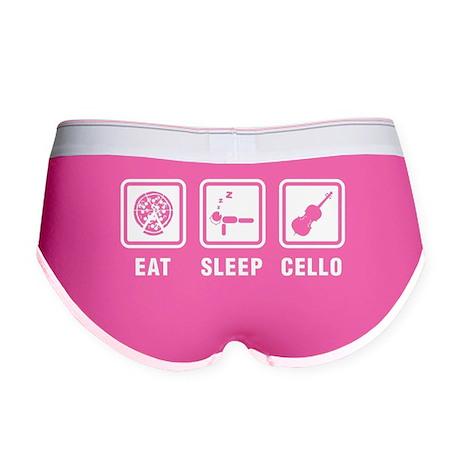 Eat Sleep Cello Women's Boy Brief