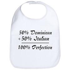 Half Italian, Half Dominican Bib