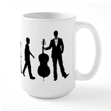 Cellist Evolution Large Mug
