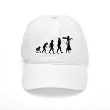 Cellist Evolution Baseball Cap