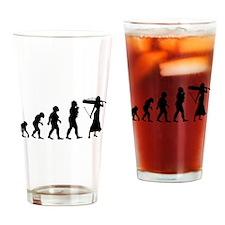 Cellist Evolution Drinking Glass