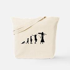 Cellist Evolution Tote Bag