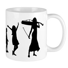 Cellist Evolution Mug