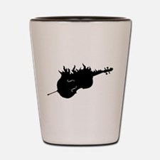 Flaming Hot Cello Shot Glass