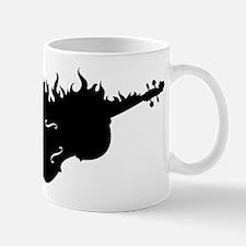 Flaming Hot Cello Mug