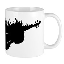 Flaming Hot Cello Mug