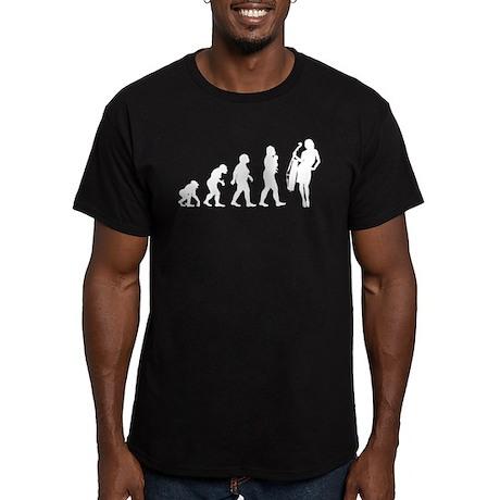Cellist Evolution Men's Fitted T-Shirt (dark)