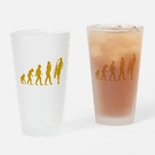 Cellist Evolution Drinking Glass