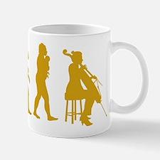 Cellist Evolution Mug