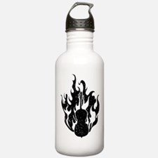 Flaming Cello Water Bottle