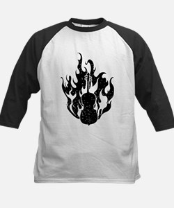 Flaming Cello Tee