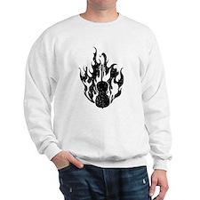 Flaming Cello Sweatshirt